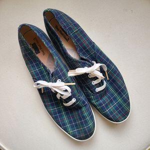 Keds | Vintage Plaid Sneakers size 9